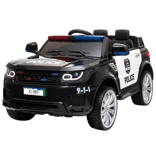 Masinuta electrica Chipolino SUV Police black - Plimbare bebe - Masinuta electrica