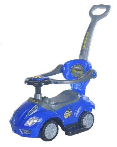 Masinuta multifunctionala 3 in 1 Ride On Blue - Plimbare bebe - Masinute fara pedale