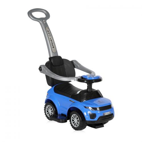 Masinuta off road + impingator - blue - Plimbare bebe - Masinute fara pedale
