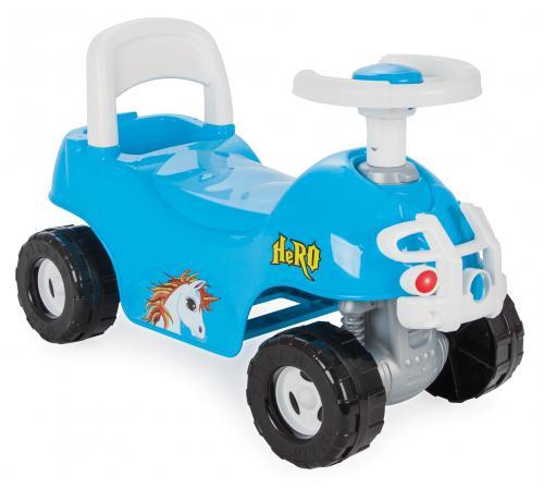 Masinuta ride-on pilsan hero atv albastra - Plimbare bebe - Masinute fara pedale