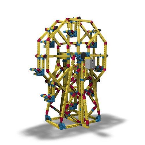 Mega Structuri: Roata Ferris Engino - Jucarii copilasi - Jucarii de constructie