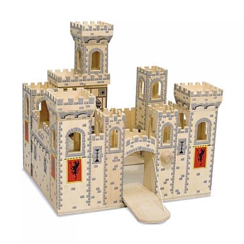 Melissa & Doug - Castel Medieval Pliabil - Jucarii copilasi -