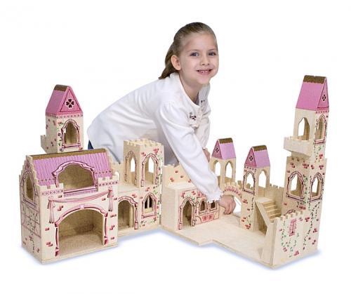 Melissa&doug - Castelul Printesei (pliabil) - Jucarii copilasi -