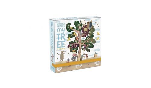 Micro-puzzle copacul anotimpurilor - Jocuri pentru copii - Jocuri cu puzzle