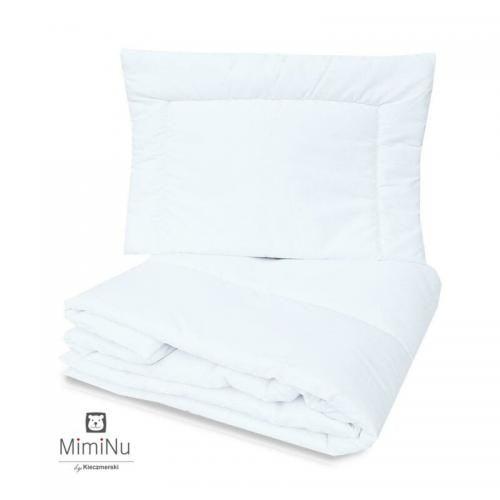 MimiNu - Set pilota si perna pentru patut - Camera bebelusului - Lenjerii patut