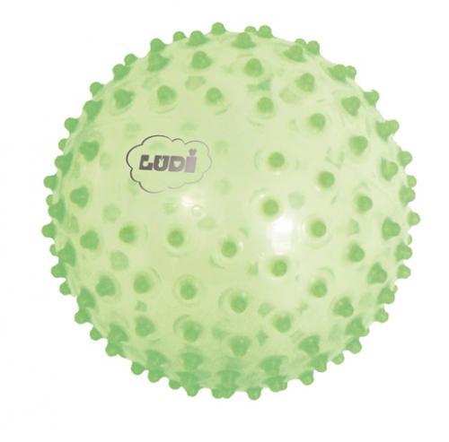 Minge senzoriala verde LUDI - Jucarii bebelusi -