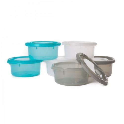 Mini caserole de stocare si depozitare mancare pentru bebelusi Albastru - Hrana bebelusi - Accesorii alimentare