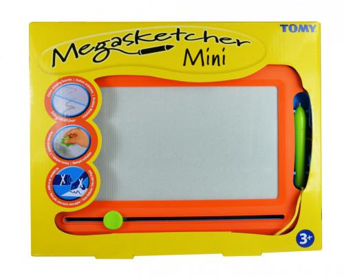 Mini megasketcher - tablita magnetica de scris si desenat - Jucarii bebelusi -