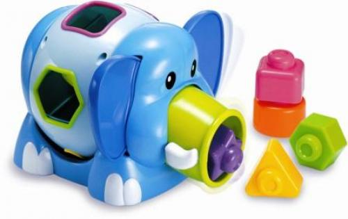 Miniland - Elefant Cu Forme - Jucarii copilasi -