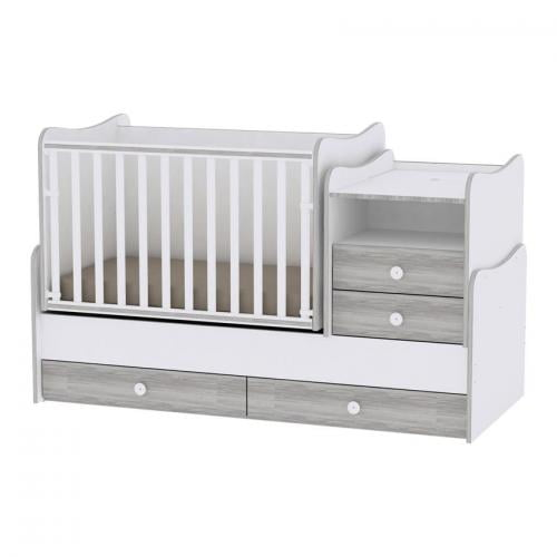 Mobilier combo - white & artwood - Camera bebelusului - Mobilier bebe