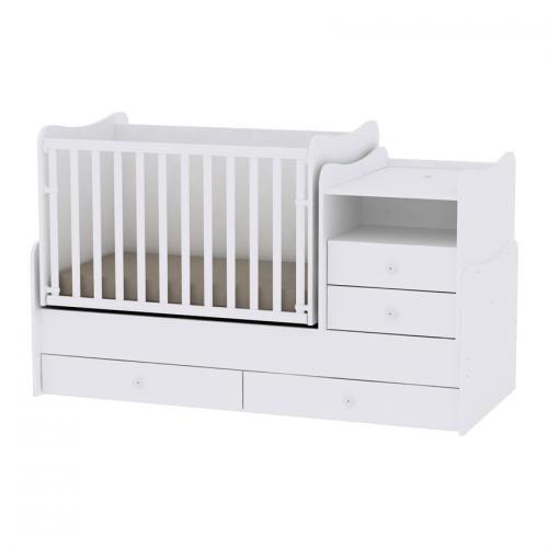 Mobilier combo - white - Camera bebelusului - Mobilier bebe