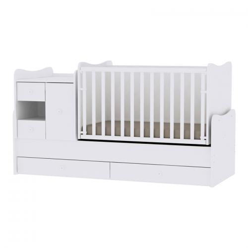 Mobilier minimax new - white - Camera bebelusului - Mobilier bebe