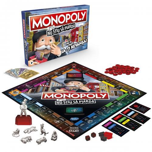Monopoly pentru cei care nu stiu sa piarda - Jocuri pentru copii - Jocuri societate