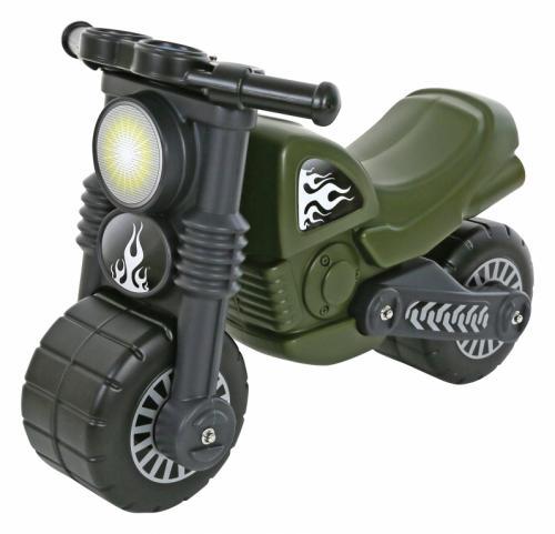 Motocicleta militara - Wader - Plimbare bebe - Masinute fara pedale