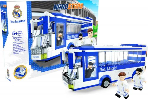 Nanostars Real Madridautobuz - Jucarii copilasi - Avioane jucarie