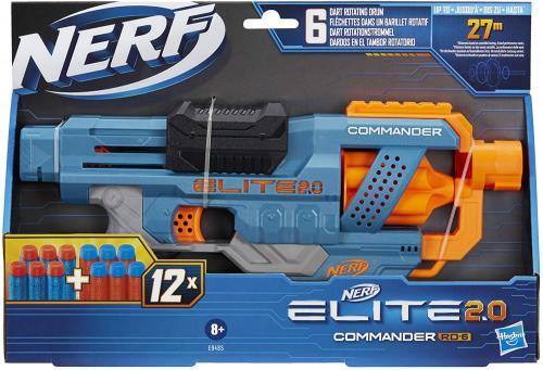Nerf blaster 20 elite commander rd-6 - Jucarii copilasi - Pusti si pistoale