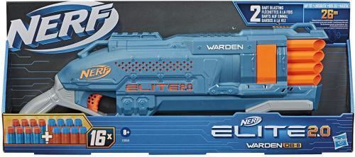 Nerf elite 20 blaster warden db-8 - Jucarii copilasi - Pusti si pistoale