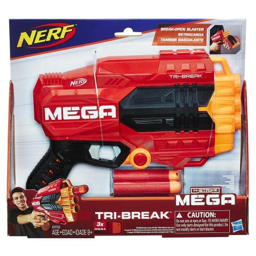 Nerf mega tri break - Jucarii copilasi - Pusti si pistoale