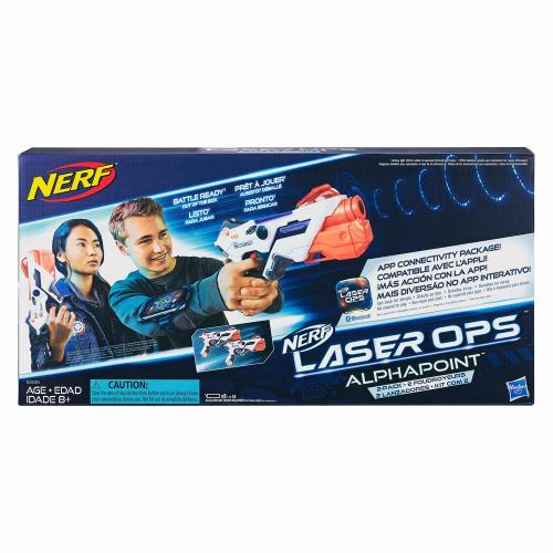 Nerf set 2 blastere laser ops pro alphapoint - Jucarii copilasi - Pusti si pistoale