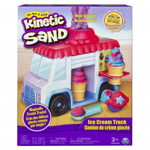 Nisip kinetic masina de inghetata - Jucarii copilasi - Toys creative