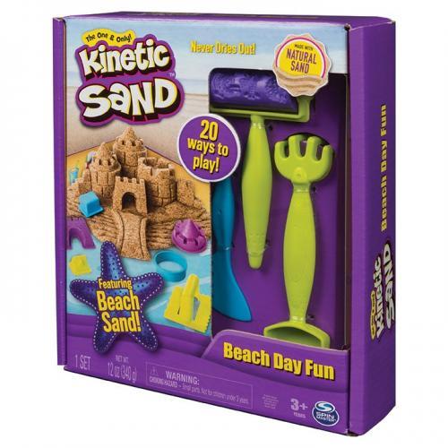 Nisip kinetic o zi la plaja - Jucarii copilasi - Toys creative