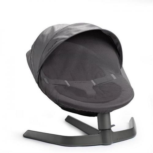 Nuna - Copertina pentru sezlong Leaf Cinder - Camera bebelusului - Leagane si balansoare