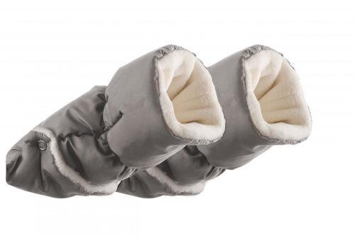Nuvita Handmuff Melange Light Grey - Manusi pentru carucior 9305 - Carucior bebe - Accesorii carut