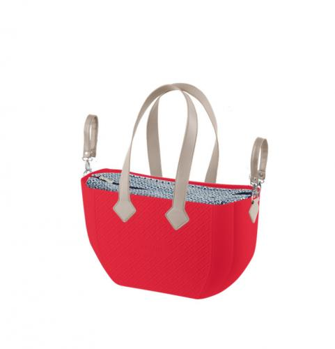 Nuvita Mymia Geanta pentru mamici - Crimson Optical Grey - Plimbare bebe - Genti carucioar