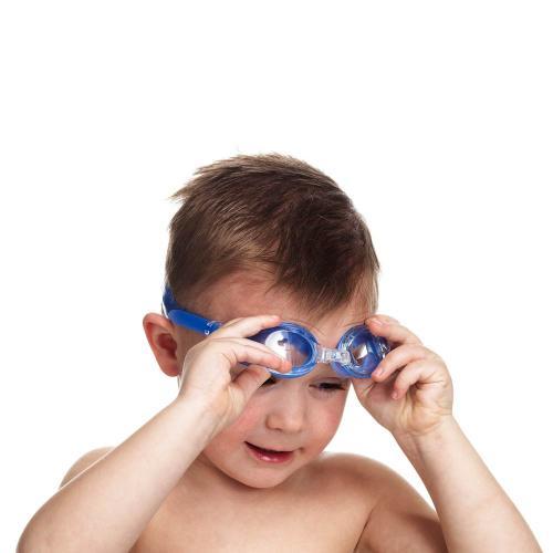 Ochelari inot albastru Junior Swimpy - Plimbare bebe -