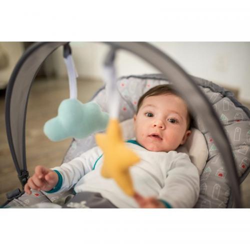 Olmitos - Balansoar bebe cu spatar reglabil Town - Camera bebelusului - Leagane si balansoare