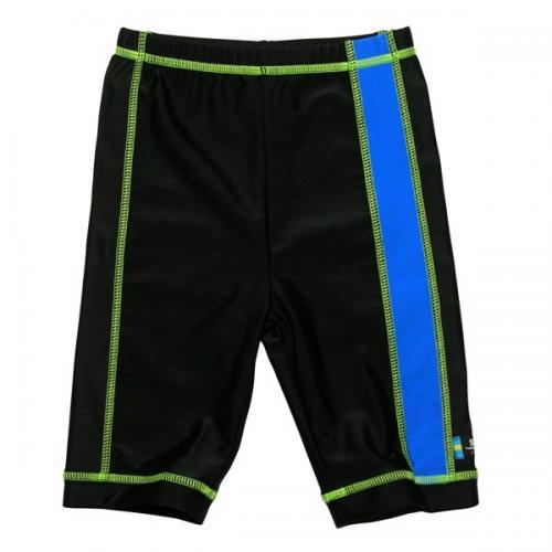 Pantaloni de baie blue black marime 98- 104 protectie UV Swimpy - Echipament inot -