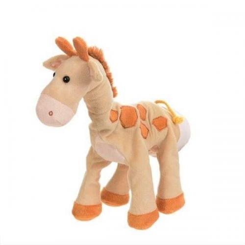 Papusa de mana girafa - Jucarii bebelusi -