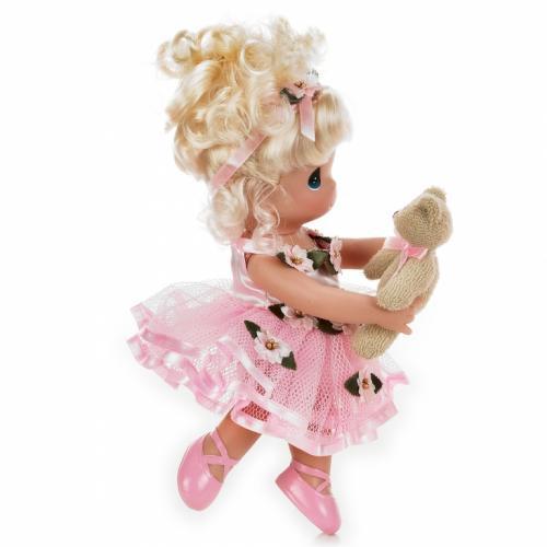 Papusa decor - Danseaza cu mine - blonda - 23 cm - Precious Moments - Papusi ieftine -