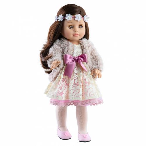 Papusa Emily in rochie din dantela - Soy Tu - Paola Reina - Papusi ieftine -