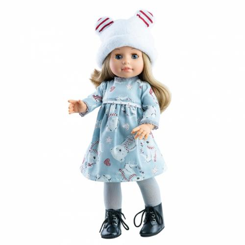 Papusa Emma in rochita cu ursuleti - Soy Tu - Paola Reina - Papusi ieftine -