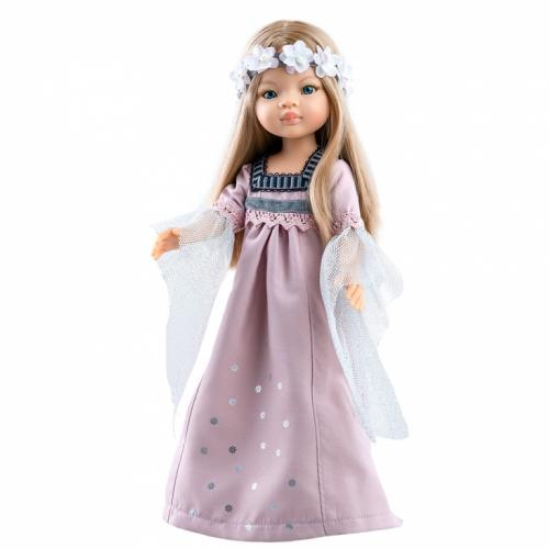 Papusa MANICA in rochie lunga de seara roz prafos - Amigas - Paola Reina - Papusi ieftine -