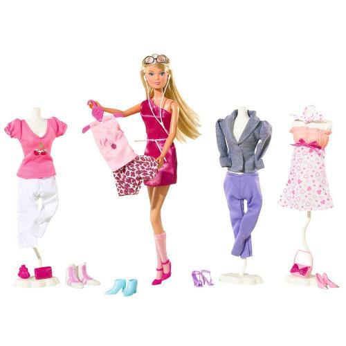 Papusa Simba Steffi Love 29 cm Mega Fashion cu 45 accesorii - Papusi ieftine -