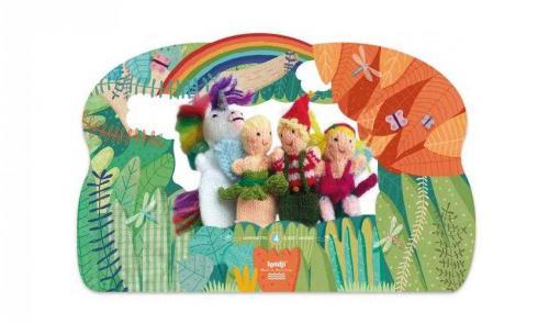 Papusi tricotate pentru teatru cu papusi - magia londji - Jucarii copilasi -
