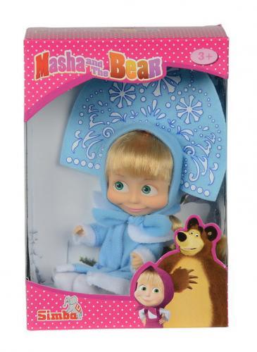 Papusica masha cu costum albastru - Jucarii copilasi - Figurine pop