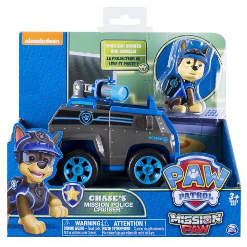 Patrula catelusilor set masina de politie cu figurina chase - Jucarii copilasi - Figurine pop