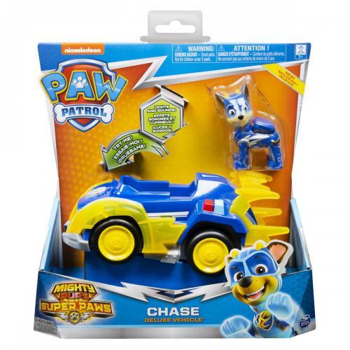 Patrula catelusilor super eroul chase cu masina de politie - Jucarii copilasi - Avioane jucarie