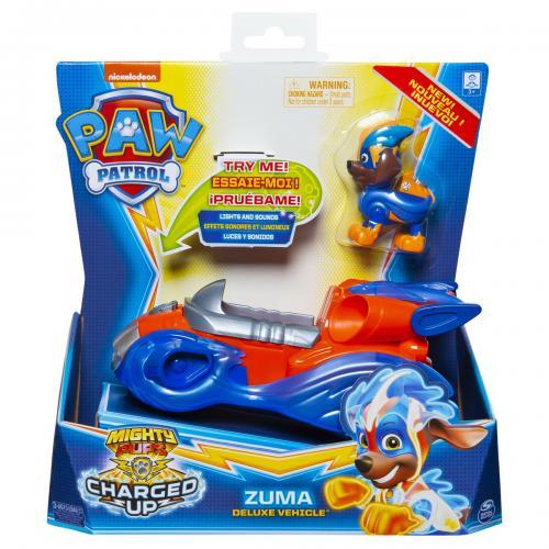 Patrula catelusilor vehicul cu figurina zuma sunete si lumini - Jucarii copilasi - Figurine pop