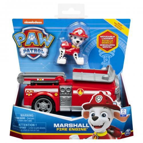 Patrula catelusilor vehicule cu figurina marshall - Jucarii copilasi - Avioane jucarie