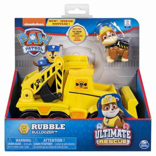 Patrula catelusilor vehicule tematice ultimate rescue rubble - Jucarii copilasi - Figurine pop