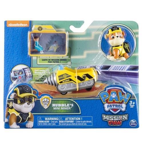 Patrula cateluslor minivehiculul lui rubble - Jucarii copilasi - Figurine pop