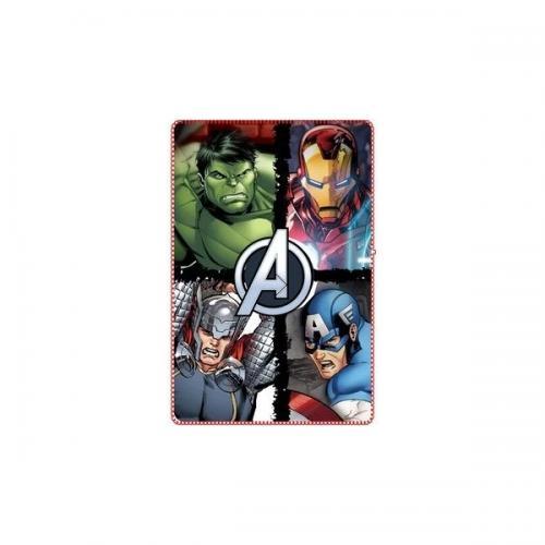 Paturica copii Avengers 100 x 150 cm SunCity SRH4181A - Camera bebelusului - Lenjerii patut