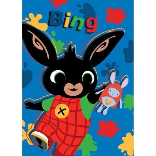 Paturica copii Bing Hoppity Voosh 100 x 140 cm SunCity STN903200 - Camera bebelusului - Lenjerii patut