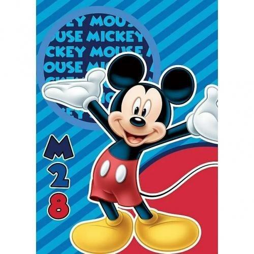 Paturica copii Mickey M28 100 x 140 cm SunCity STN586561 - Camera bebelusului - Lenjerii patut