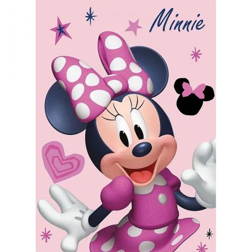 Paturica copii Minnie Pink SunCity STN586585 - Camera bebelusului - Lenjerii patut