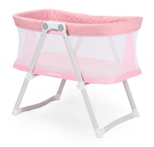 Patut Co-Sleeper Mom and Me Pink Melange - Camera bebelusului - Patut copii